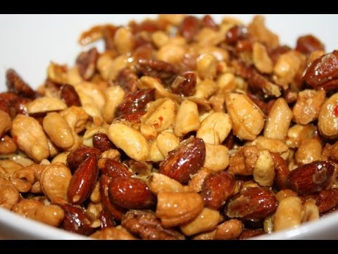 Caribbean Spiced Nuts.