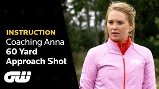 How to Hit the Pin From 60 Yards Out | Pitching Tips | Coaching Anna | Golfing World