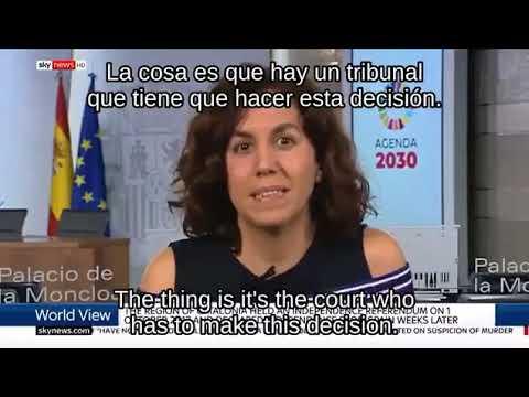 Irene Lozano compara el referéndum ilegal del 1-O con una violación