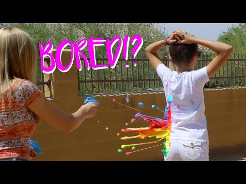 Things To Do When BORED AT HOME in Summer! | Sasha Morga