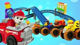 Paw Patrol Pups. Marshalls neue Station. Kindervideo auf Deutsch.