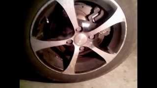Замена переднего тормозного диска Лада Приора