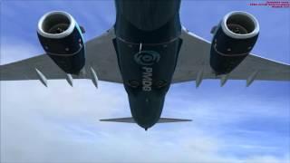 737-800 NGX Взлет из URRR, заход и посадка в LOWI (Инсбрук)(, 2016-04-04T20:21:34.000Z)