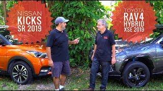 Nissan Kicks 2019 vs. Toyota RAV4 Hybrid 2019, batalla de SUVs!