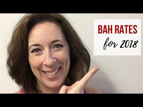 BAH Rates 2018 - Savannah, GA