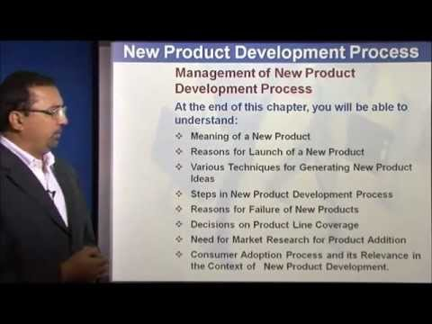 New Product Development Process by Mr. Chandu Nair