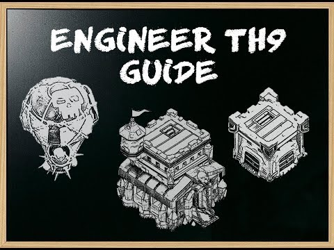 Clash Of Clans - How To Engineer After The Update! (th9 Guide)