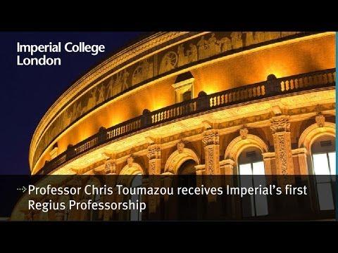 Professor Chris Toumazou receives Imperial's first Regius Professorship