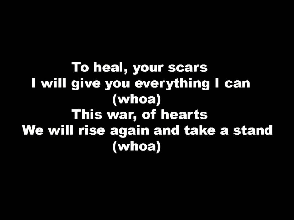 Black veil brides nobodys hero lyrics - YouTube