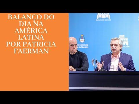 Balanço do dia na América Latina