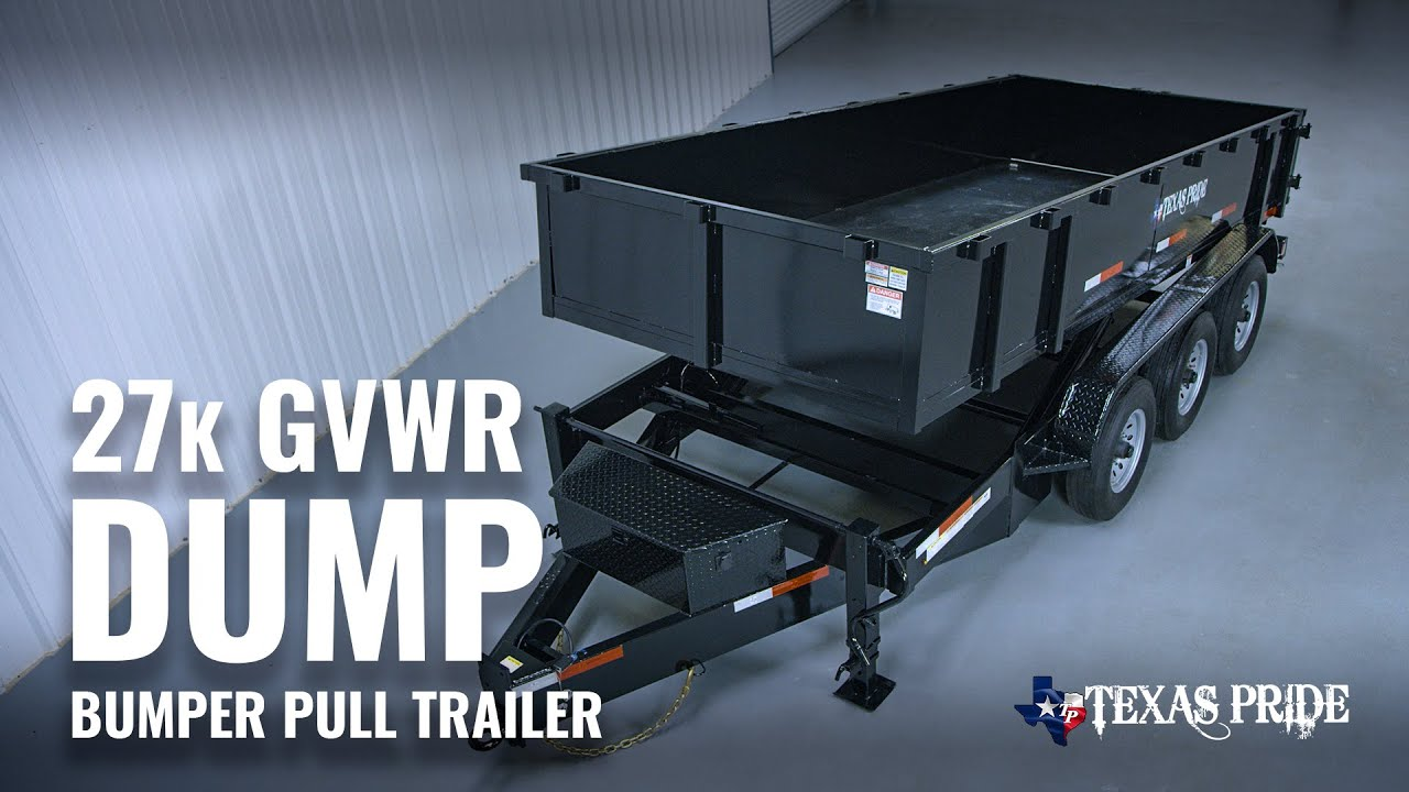 Walk Around: 14K lb GVWR Roll Off Trailer System | Texas Pride - YouTubeYouTube