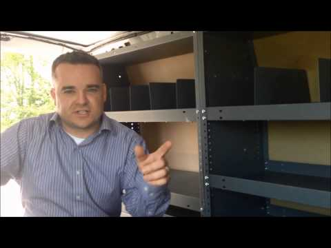 2011 Ford Econoline Interior Storage Racks   Stuart Powell Ford   Danville, KY