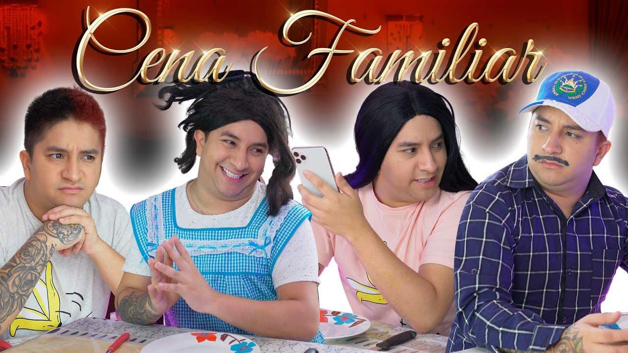 Cena familiar en CUARENTENA | Mario Aguilar