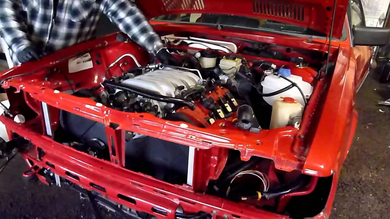 V8 Audi 40v 4 2 In A 1985 4000s Quattro Youtube
