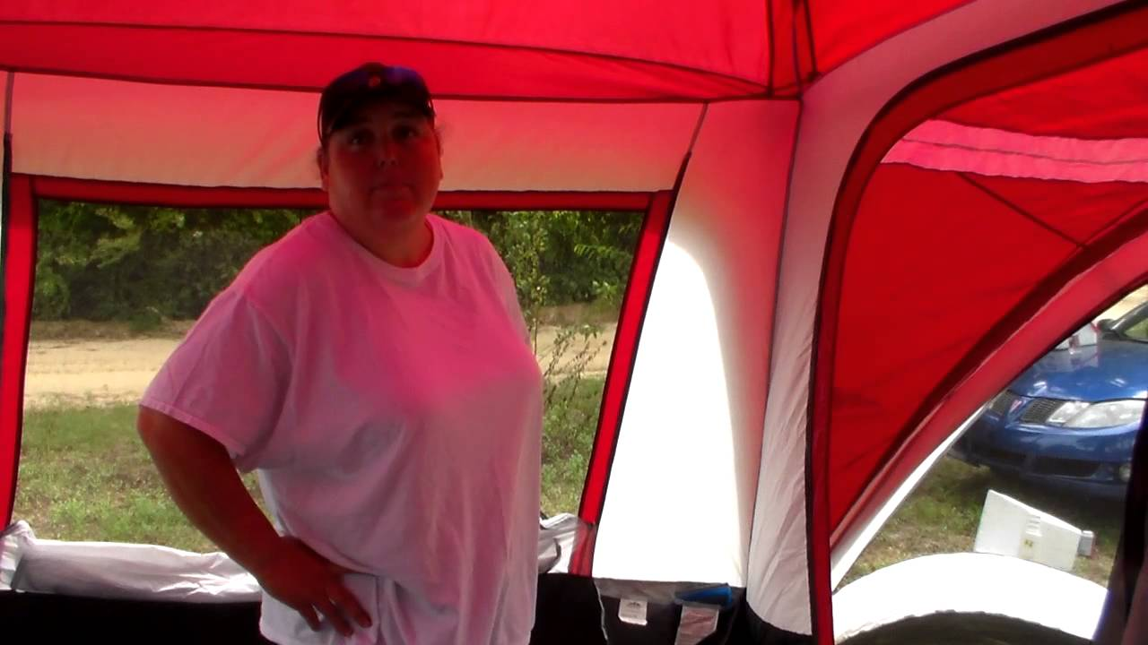 Sort of a review on our northwest territory Regal creek tent & Sort of a review on our northwest territory Regal creek tent - YouTube