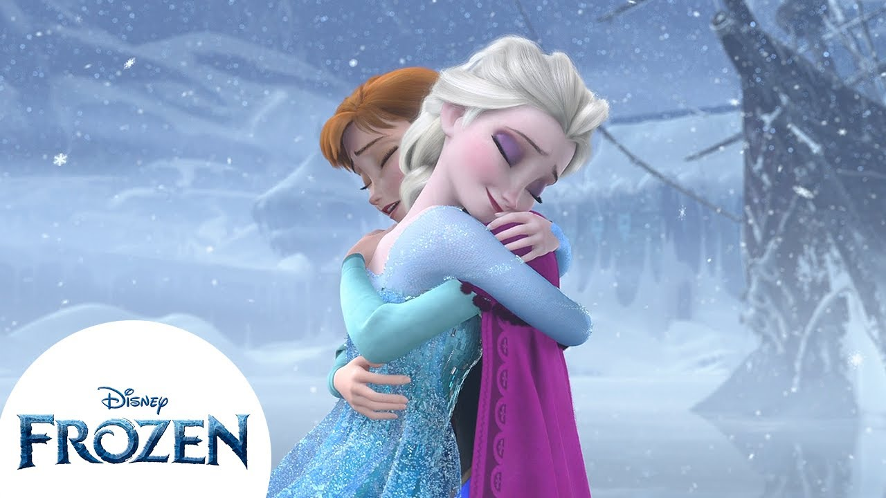 Anna and Elsa's Sisterly Love | Frozen