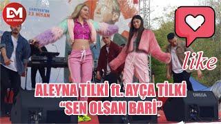 Aleyna Tilki, Kardeşi Ayça Tilki İle 23 Nisan'da Aynı Sahnede... Aleyna Tilki ft. Ayça Tilki..