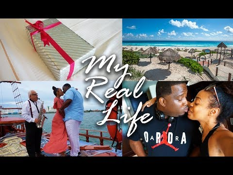MY REAL LIFE | EP 26 - Last Minute Trip to Cancun + Anthony's Funny Reaction to my Surprise!