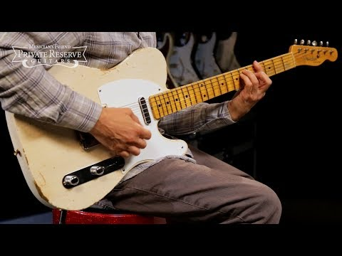 Fender Custom Shop 1954 Relic Telecaster Electric Guitar