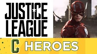 Collider Heroes - Justice League Set Visit Details Plus The Flash Scene Discussed