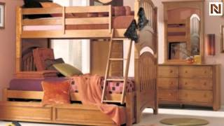 Lea 342-976nr 3/3 Twin Over Twin Bunk Bed From My Place-maple Finish