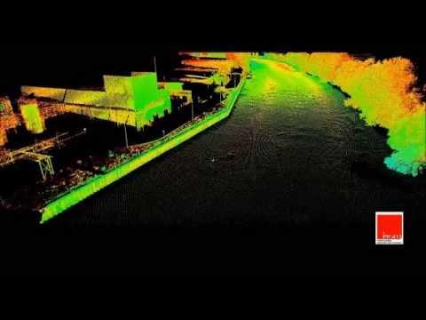 Bathymétrie et Scanner 3D en simultané - INGEO - Septembre 2013