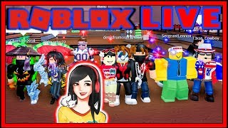 Roblox Live Stream Any Games - GameDay Saturday 105 - AM