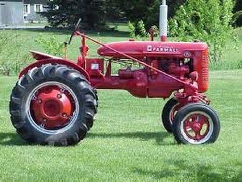 1941 farmall A tractor engine teardown pt1