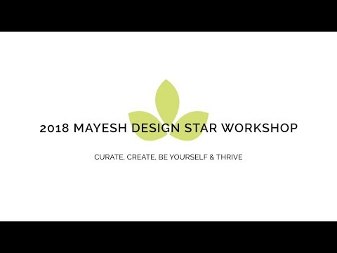2018 Design Star Flower Workshop Tour with Kaylee Young
