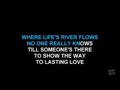 Everlasting Love in the style of Gloria Estefan karaoke video with lyrics