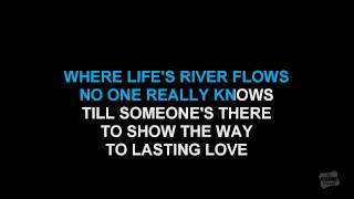 Everlasting Love in the style of Gloria Estefan karaoke video with lyrics