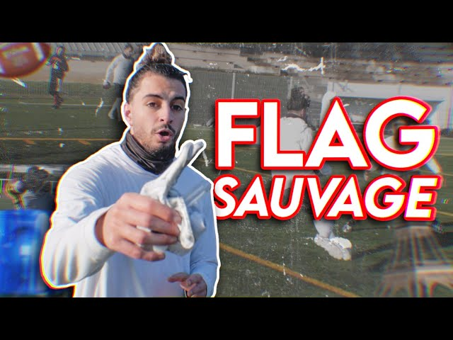 ON FAIT UN FLAG FOOTBALL SAUVAGE À PARIS 🤯🔥