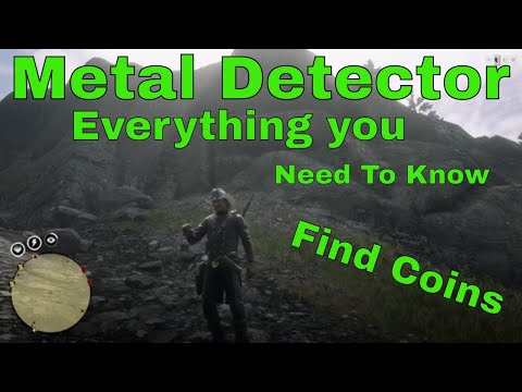Red Dead Redemption 2 Online How To Use The Metal Detector