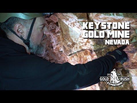 Keystone Gold Mining Claim - Nevada - 2017