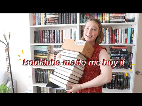 Another Big Book Haul! (Booktube made me buy it lol)