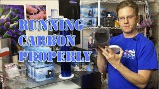 Running Carbon Properly in a reef aquarium