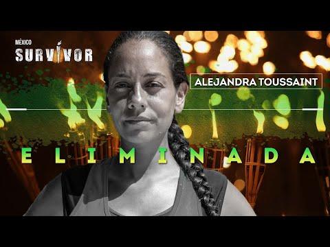Dramático duelo de extinción, Alejandra Toussaint eliminada Survivor. | Survivor México 2021