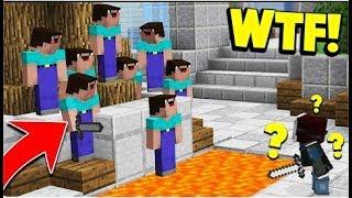 10 НУБОВ ПРОТИВ 1 МАНЬЯКА ( Minecraft Murder Mystery Trolling ) ТРОЛИНГ В МАЙНКРАФТЕ