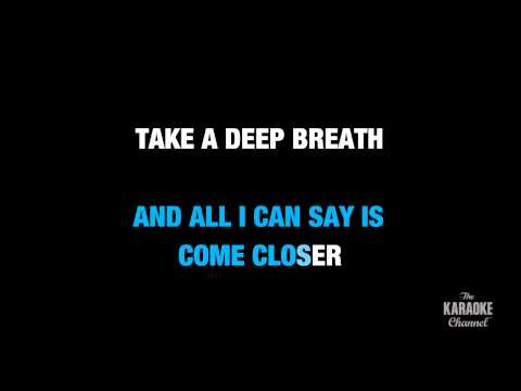 "Jump Then Fall in the Style of ""Taylor Swift"" karaoke video with lyrics (no lead vocal)"