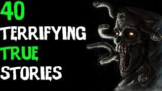 40 TRUE Scary Encounters From Reddit (2017) ULTIMATE Stories Compilation