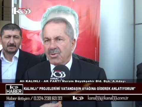 ALİ KALINLI KANAL 33 HABER KONUŞMASI