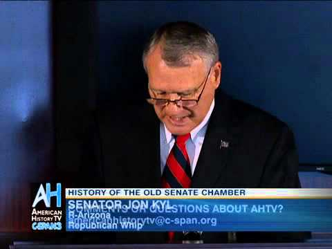 History of the Old Senate Chamber - Senator Jon Kyl