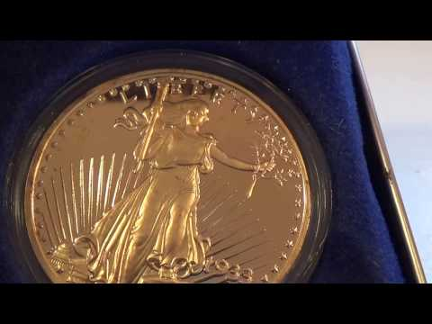 National Collector's Mint Gold 1933 Twenty Dollar Coin