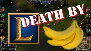 DEATH BY BANANA! (Sacred's League moments w/ Soraka)