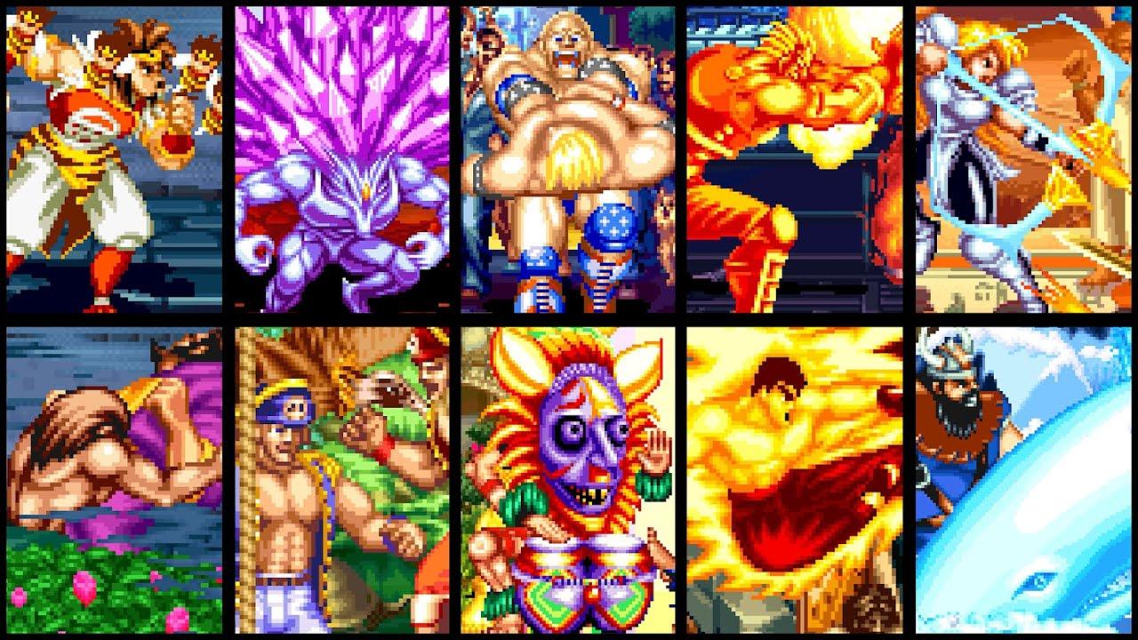 SNK Arcade Gem: World Heroes Perfect - All Desperation & Super Desperation Attacks