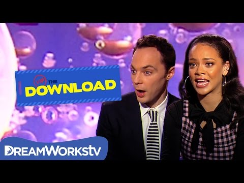 Rihanna Plays Would You Rather with Jim Parsons   THE DREAMWORKS DOWNLOAD