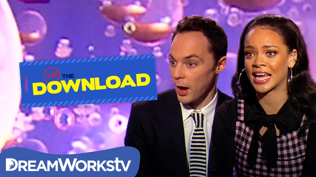 9e9ee2d16 Rihanna Plays Would You Rather with Jim Parsons | THE DREAMWORKS ...