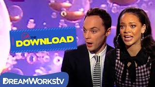 Rihanna Plays Would You Rather with Jim Parsons | THE DREAMWORKS DOWNLOAD