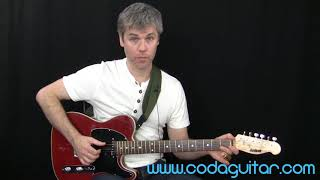 Seasick Steve Guitar - 3 String Fingerstyle Tutorial