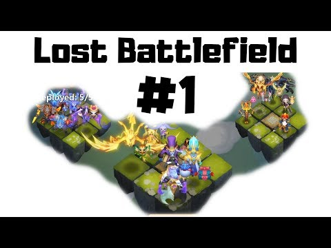 Lost Battlefield | Day 1 | Road To Rank 1 | Castle Clash